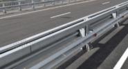 Дорожное ограждение мостовое одностороннее