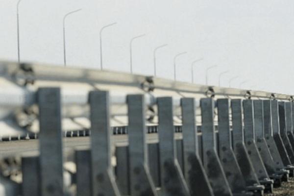 Ограждение дорожное мостовое одностороннее