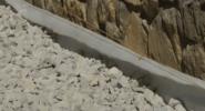 Укладка геотекстиля геотекс под щебень
