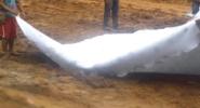 Геотекстиль геофлакс укладка