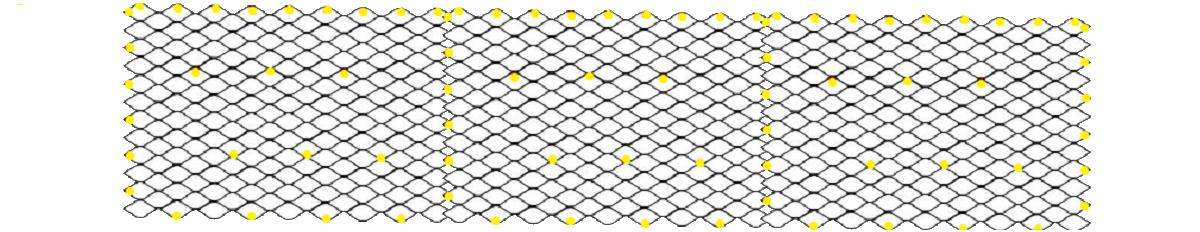 Схема крепежа при укладке георешетки на склон