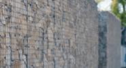 Забор из сварных габионов