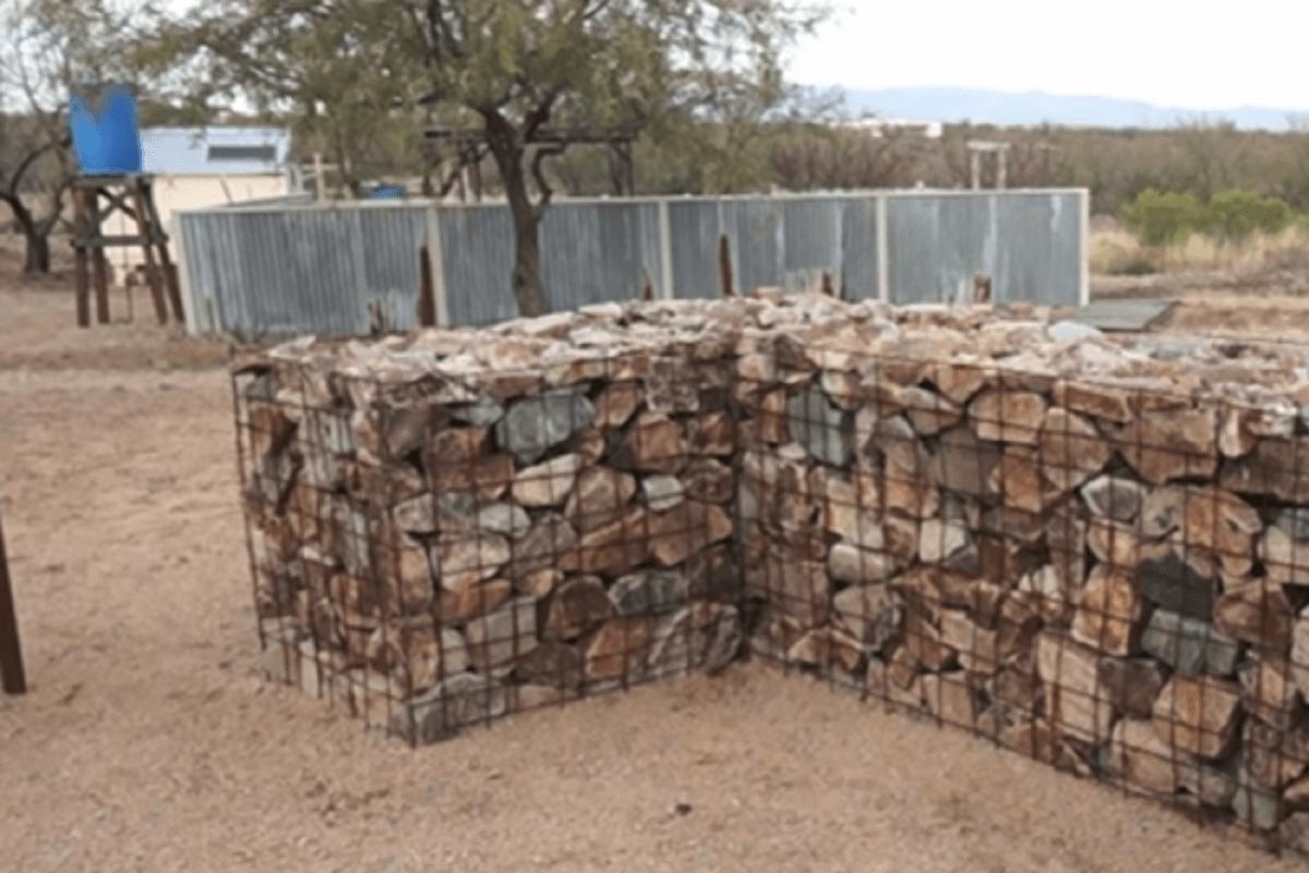 Подпорные стенки и их использование в виде декоративного элемента