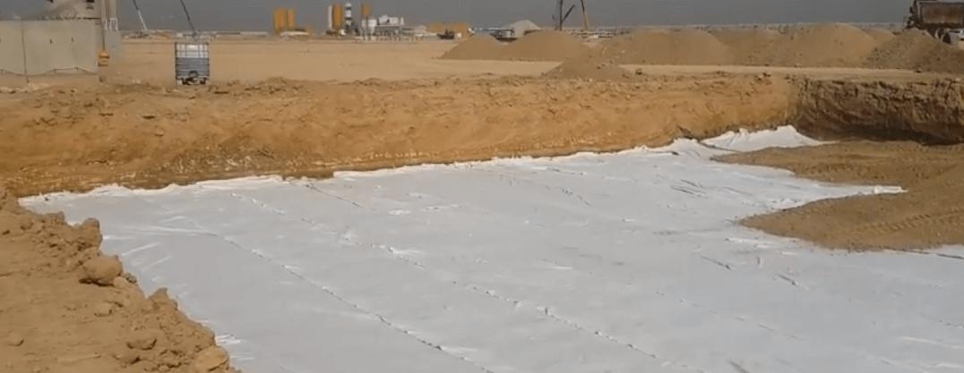 Геотекстиль в дорожном строительстве